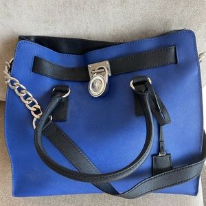 Michael Kors Large Pebbled Leather Satchel